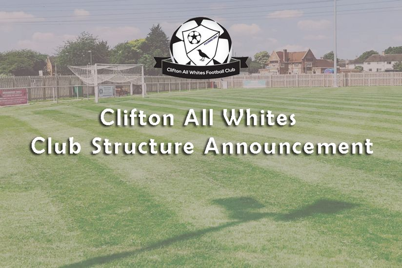 Club Structure Announcement