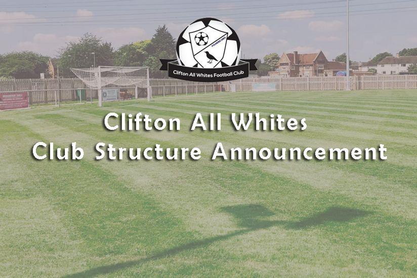 Club Structure Announcement